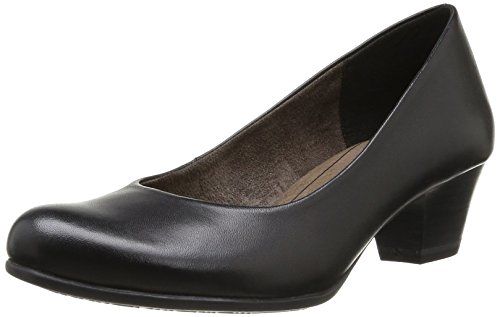 TAMARIS 1-1-22302-23 001, Damen Pumps, Schwarz (BLACK 1), EU 38