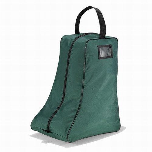 Quadra boot bag in bottle green / black