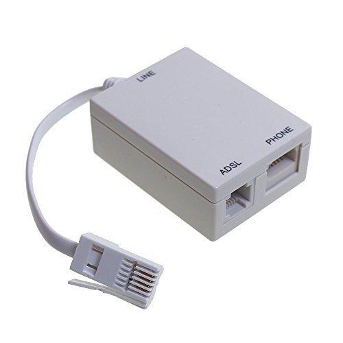 ADSL Breitband Micro Filter für BT/Sky/Talk Talk Telefon Mikrofilter Splitter bleifreien