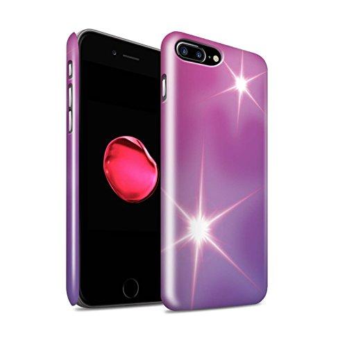 STUFF4 Glanz Snap-On Hülle / Case für Apple iPhone 5/5S / Leuchtende Sterne Muster / Ombre Muster Kollektion Leuchtende Sterne