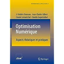 Optimisation Numerique: Aspects theoriques et pratiques (Mathématiques et Applications)