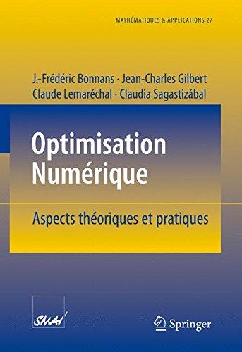 Optimisation Numerique: Aspects theoriqu...