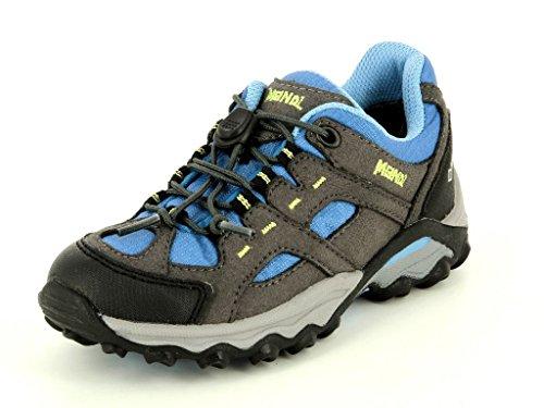 Meindl lugo junior gTX 2093–18 lacets-chaussures enfants en moyenne - Hellblau/Anthrazit