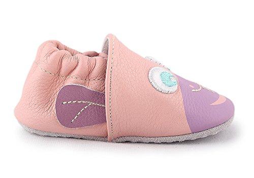 Cartoonimals Babyschuhe Mädchen Jungen Neugeborene Weiche Rutschsicheren Baby Kinder Schuhe Chimpy Pink