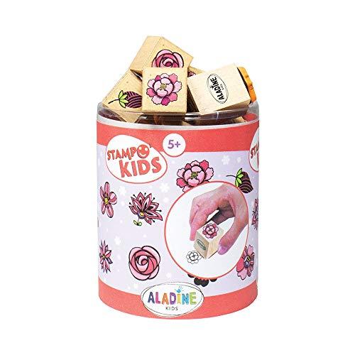 Aladine- Stampo Kids Stapo, Multicolore, ALD-K09