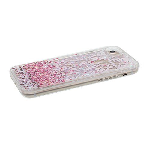 "iPhone 6 Coque, iPhone 6s étui Cover 4.7"", [ Bling Glitter Fluide Liquide Sparkles Sables] fée iPhone 6 Case Shell (4.7""), anti- chocs & ring Support # 1"