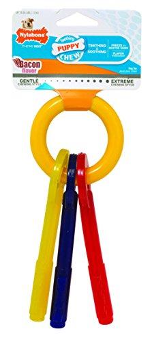 Interpet 981384 Nylabone Kauspielzeug für Welpen, Schlüssel, klein (Nyla Welpen)