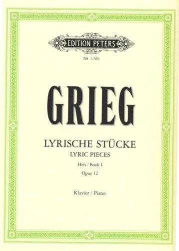 Lyrische Stücke - Heft/Book 1 - Opus 12 - Klavier/Piano