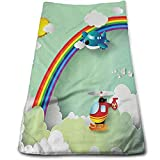 ewtretr Toallas De Mano, Plane Hot Air Balloon Helicopter Cool Towel Beach Towel Instant Cool Ice Towel Gym Quick Dry Towel Microfibre Towel Cooling Sports Towel for Golf Swimming Yago Beach