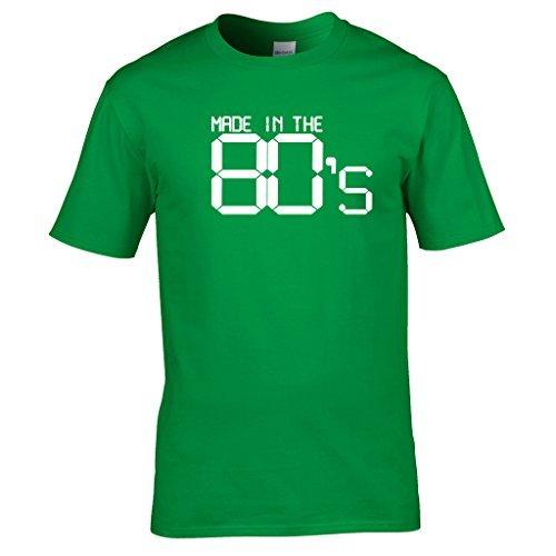 Naughtees vêtements - Made in The années 80 t-Shirt. Super pour rétro fêtes, rentrée Scolaire discothèques ou Affichage You're Proud to Be a Child of