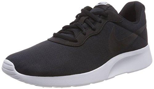 Nike Herren Tanjun Textil/Synthetik Sneaker Schwarz  43
