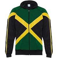 Rasta Reggae Giacca con bandiera della Giamaica 32c573b0c0cb