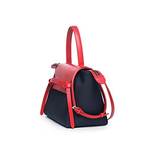Yvonnelee sac à main sac bandoulière de bonne qualité Rose Red