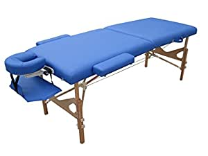 Massageliege Massunda Montana königsblau