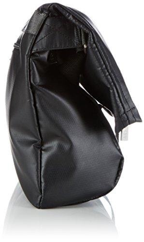BREE Punch 98, blue, messenger M 83251098 Damen Umhängetaschen 35cm x 32cm x 09 cm (B x H x T), Schwarz (Black 900)