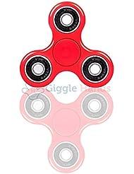 Fidget Toy tipo Spinner para niños o adultos Giggle Hands – Girador Alta Velocidad – Gira 1 minuto – Juego Sensorial Hand Spinner