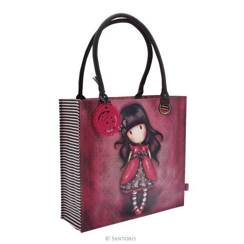 Borsa Shopping Bag Large Gorjuss Ladybird Fucsia - 291GJ06