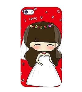 EPICCASE I love you red Mobile Back Case Cover For Apple iPhone 4/4s (Designer Case)