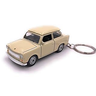 Welly Trabant Trabi DDR Schlüsselanhänger Anhänger aus Metall Lizenzprodukt / 1:60 OVP