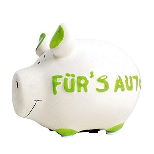 KCG Spardose Schwein Fürs Auto Keramik klein