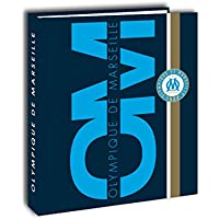 Olympique de Marseille Classeur Carton Mixte Enfant, Bleu, 4 cm