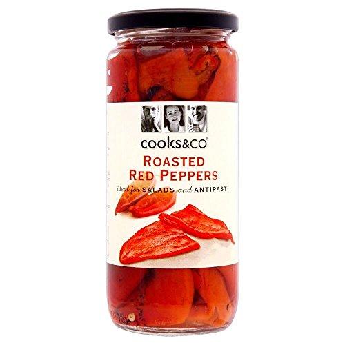 Cooks & Co poivrons rôtis (460g) - Paquet de 6