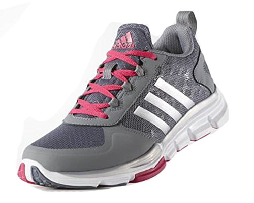 Vitesse Adidas Performance Trainer 2 W Chaussures, Noir / Metallic de carbone / blanc, 5 M Us Grey/Silver/Pink
