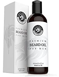 Beard Oil - Extra Large Bottle 100ml - Premium Beard Conditioning Oil For Men With Subtle Sweet Scent - Nourishes And Thickens Hair Giving Shine Without Leaving A Greasy Residue - Stop Itching Fast And Condition Your Beard Now - 100% Satisfaction Guarantee