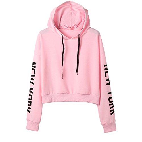 Btruely Hoodie Pullover Damen Herbst Mode Hooded Sweatshirt Mädchen Pullover