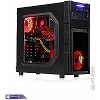 Ankermann-PC Gamer PC mit 24 Monate Garantie, Ryzen 5 1600 6x 3,20GHz Turbo 6x3, GeForce GTX 1060 6GB, 16GB RAM, 240GB SSD, Windows 10 Pro, EAN 4260409324763