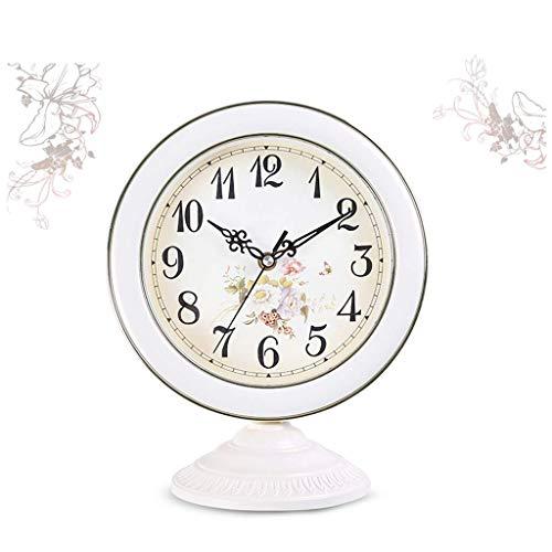 HANGESS Tischuhren - Dekoration Kaminuhren Uhr Kamin, Glas, 28 * 23cm