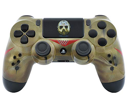 Jason PS4 Pro Rapid Fire Custom Modded Controller 40 Mods für alle großen Shooter Spiele, Fortnite und mehr, Custom LED (CUH-ZCT2U) (2 Playstation Advanced Warfare)