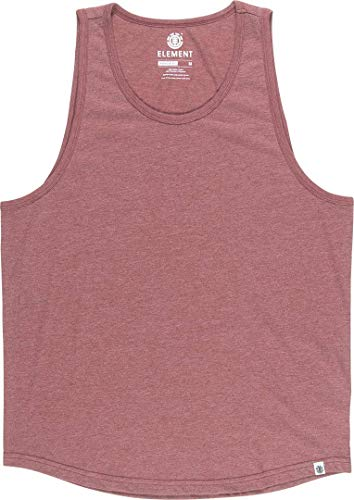 Element Basic Tank Top - Oxblood Heather Größe: L Farbe: Oxblood Heather -