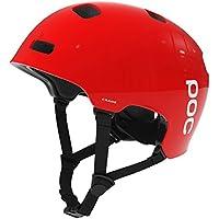 POC - Casco da ciclismo Crane, Unisex, Radhelm Crane, Rosso - bohrium red, M-L (55-58 cm)