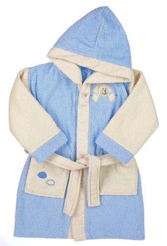 Sterntaler 96907-092031 Unisex - Baby Babykleidung/ Bademntel, Gr. 92 Blau
