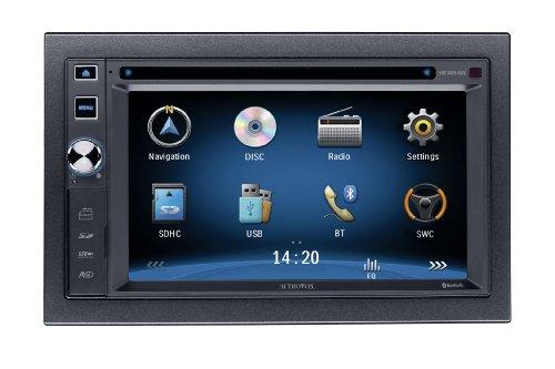 Audiovox VXE 6020 NAV-Dippel DIN Multimedia-Receiver mit Navigation Audiovox Auto-adapter