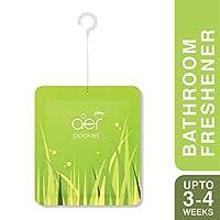 Godrej Aer Pocket Bathroom Fragrance - 10 g (Fresh Lush Green)