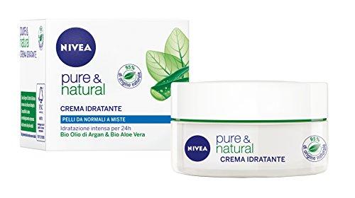 Nivea Visage Pure & Natural Crema,
