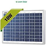 Loom Solar 10 Watt - 12 Volt Solar Panel