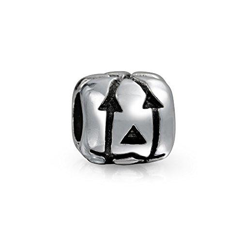 Jack O Lantern Halloween Kürbis Quadrat Charm Perle Für Damen Für Jugendlich 925 Sterling Silber Für Europäische Armband