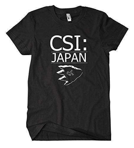 CSI Japan T-Shirt (M, (Für Kostüme Herren Csi)