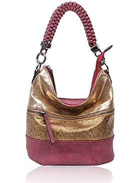 LeahWard® Damen Mode Stil Handtaschen Kunstleder Schultertasche Tragetaschen Zum Damen CW150906