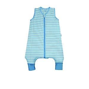 Slumbersac Bebé Peso ligero bolsa de dormir con pies aprox. 0.5Tog–Azul Rayas, color disponible en 5tamaños Talla:4-5 años