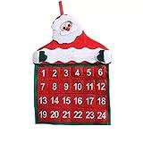 thematys® Calendrier de l'avent à remplir et Suspendre - Beau Calendrier de Noël Bricolage avec Chiffres pour Hommes, Femmes et Enfants
