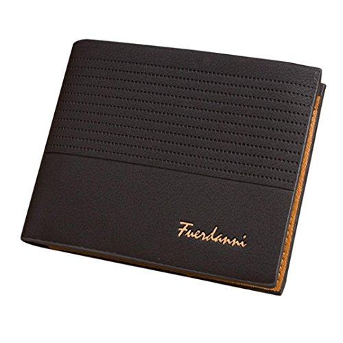 squarex Man Prägung Dull polnischen Kreditkarte Kupplung Bifold Geldbörse minimalistisch Fronttasche Brieftasche schwarz schwarz AS Show (Bi-fold Wallet Autos)