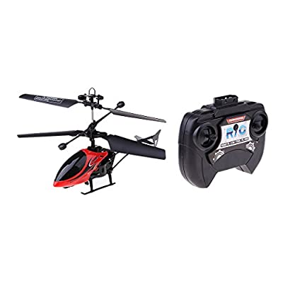 Homyl 2CH RC Mini Helicopter Radio Remote Control Micro Airplane Toy Ready to Fly from Homyl