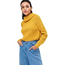 on sale c6bdf 4d712 maglione giallo - Amazon.it