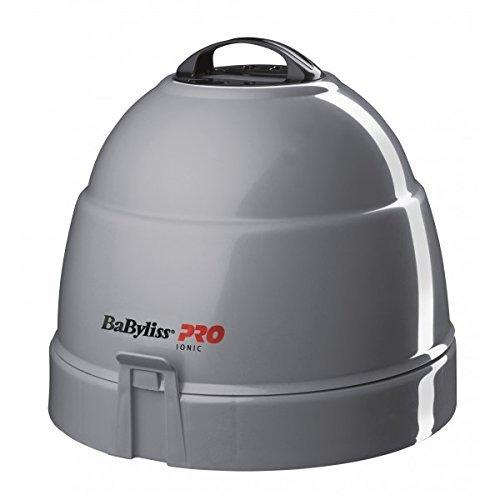 BaByliss Pro Ionic - Secador de casco, 1200 W, color gris
