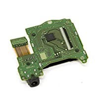 Sedensy Game Card Slot Professional Repair Cartridge Socket Accessories Video Games Reader Practical Headphone Jack Port Console Electronics Replacement Parts For Nintendo Switch