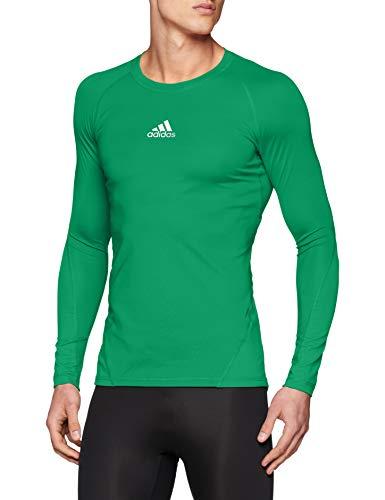 adidas Herren Ask SPRT LST M Long Sleeved T-Shirt, Bold Green, L